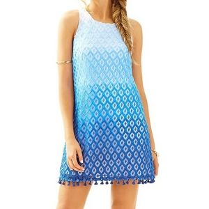 Lily Pulitzer Marquette Shift Dress in Blue